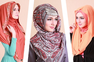 Tutorial Hijab Cantik untuk Lebaran