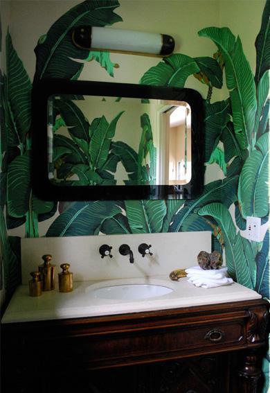 the blue house beverly hills hotel wallpaper. Black Bedroom Furniture Sets. Home Design Ideas