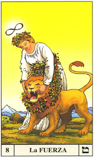 arcanos tarot la fuerza arkano ezael