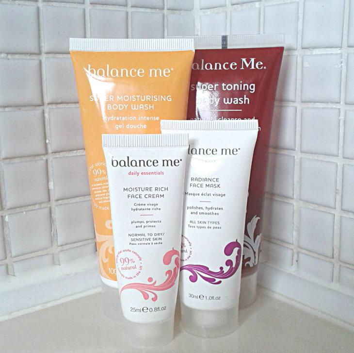 Balance Me products