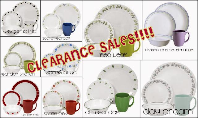 http://deelinawardrobe.blogspot.com/2013/11/corelle-clearance-sales.html
