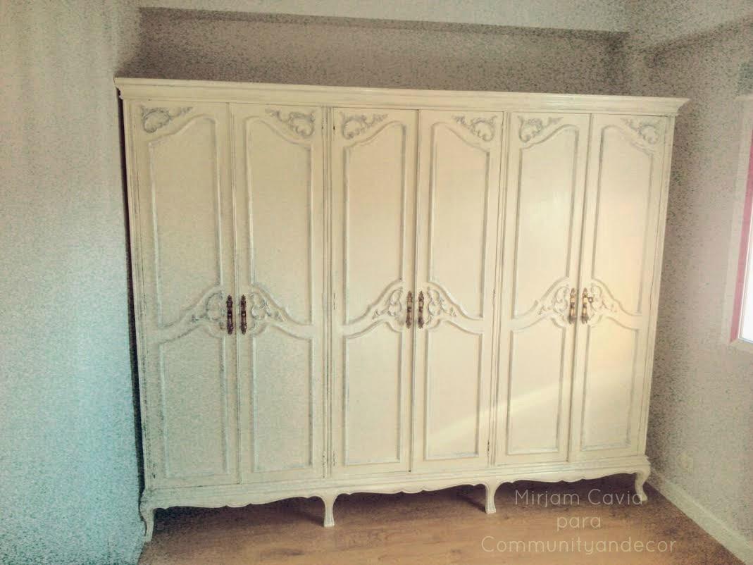 Bricolaje y reciclaje con un viejo armario