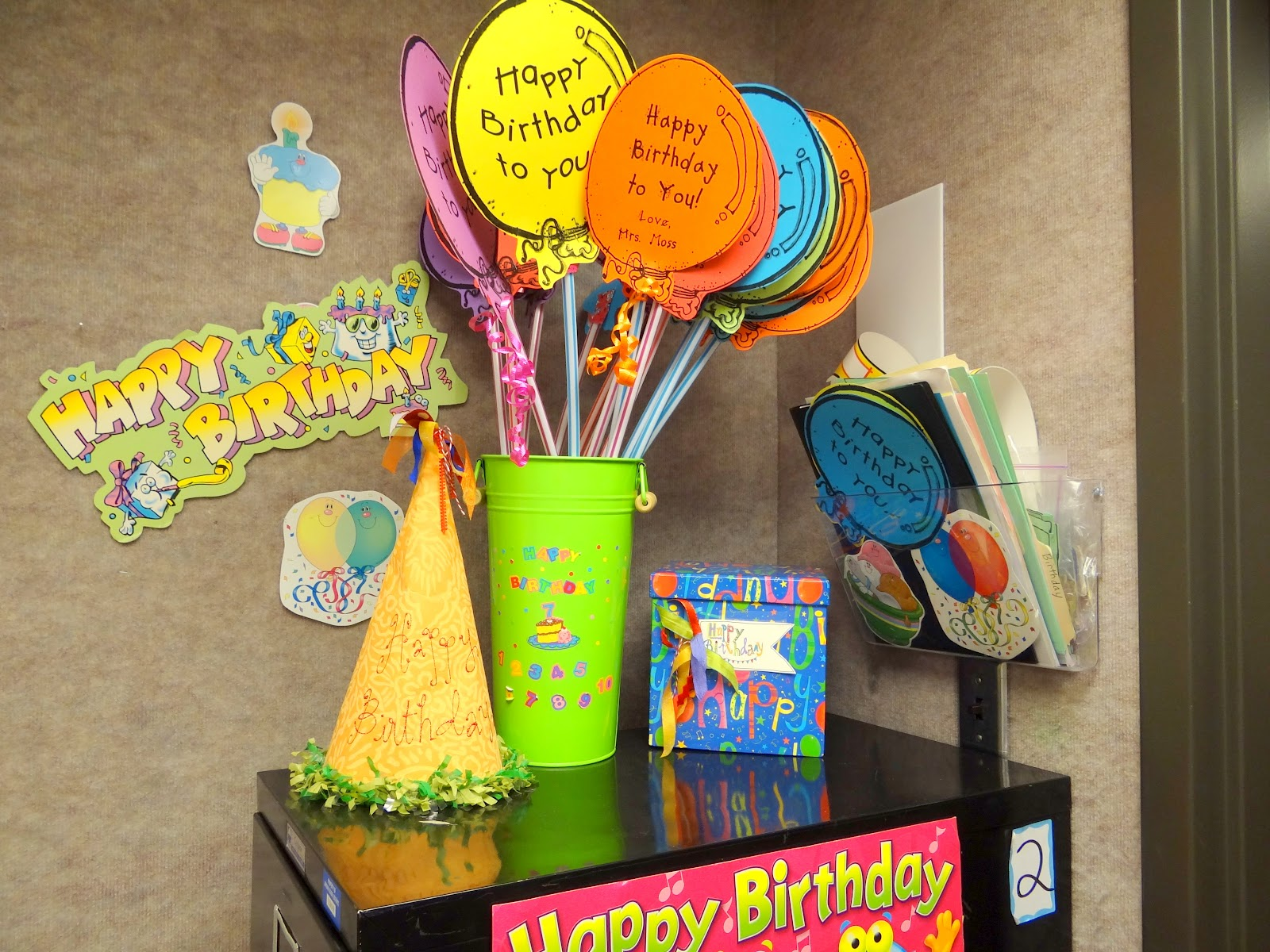 Classroom Decoration Happy Birthday ~ Patties classroom what are your birthday gift ideas for