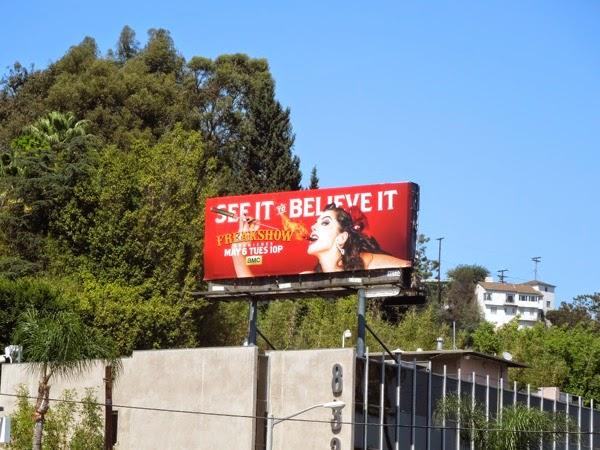 Freakshow fireeater 2 billboard