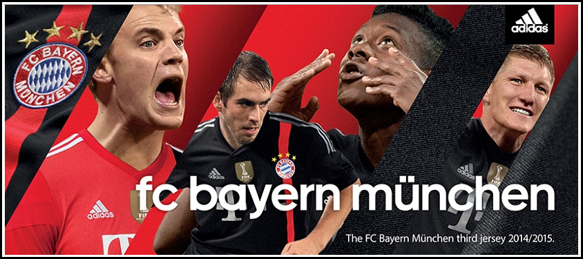 Bayern Munich Reveal a New Black 3rd Kit for Champions