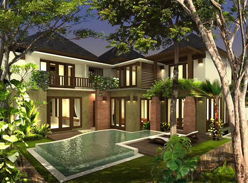 Terrific Modern Houses In Indonesia Gallery - Simple Design Home ...