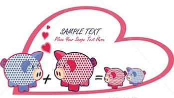 Juego de Cerditos Enamorados Pig para PC Online