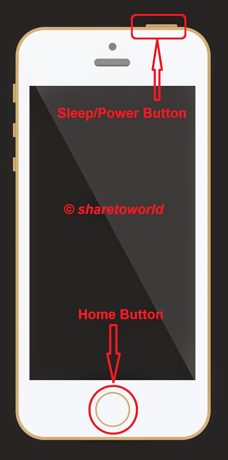 How to Take a Screenshot with a Broken Home or Power Button on iDevice