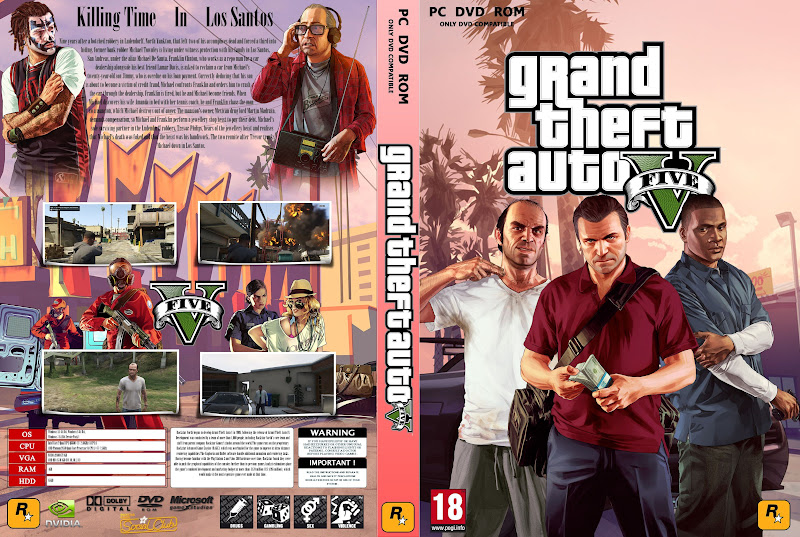 Capa Grand Theft Auto V PC
