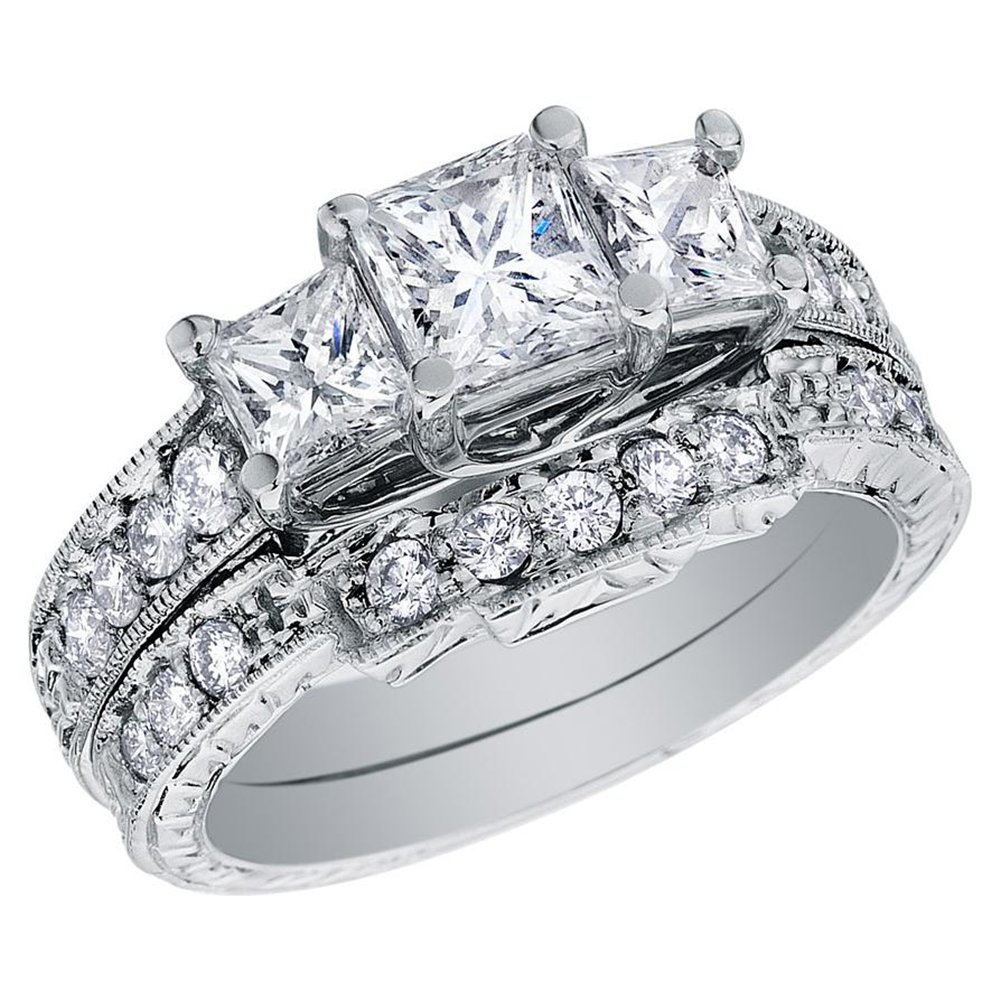 kinds of wedding rings for women different wedding rings Kinds of wedding rings for women princess cut