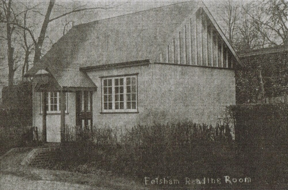 Felsham Reading Room undated photograph