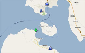 Our map of Scapa Flow