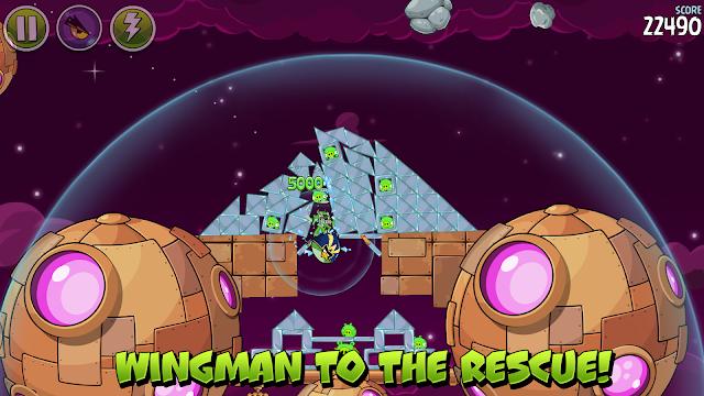 Angry Birds Space v2.2.0 Apk premium Mod [Power-Ups / Desbloqueado]