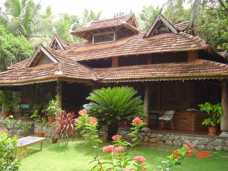 Nkrarch4others kerala architecture for What is the cost of building a house in india