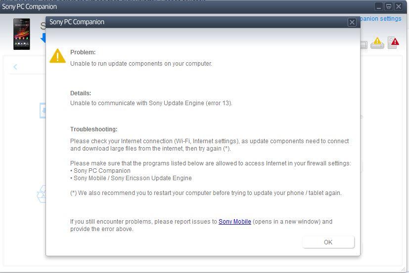 Xperia z pc companion download