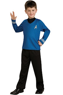 Star Trek Movie (Blue) Shirt Child Costume
