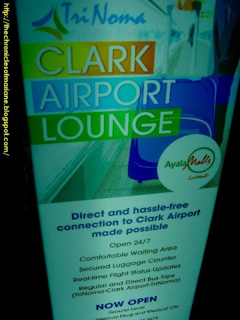 Clark Airport Lounge trinoma