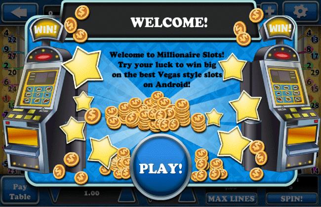 Millionaire Slots by Fruit Salad Games