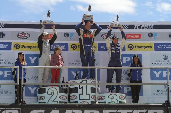 Expectacular triunfo de Santiago Mangoni en Trelew.