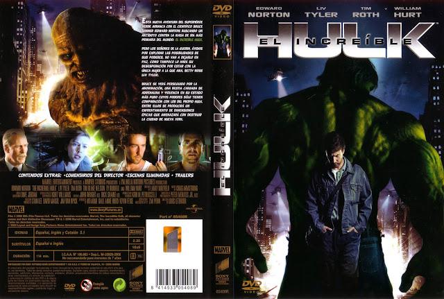 El Increible Hulk Dvd