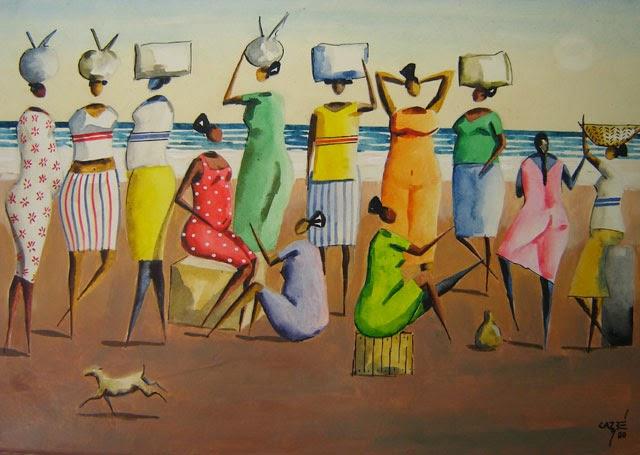 pintura de baianas