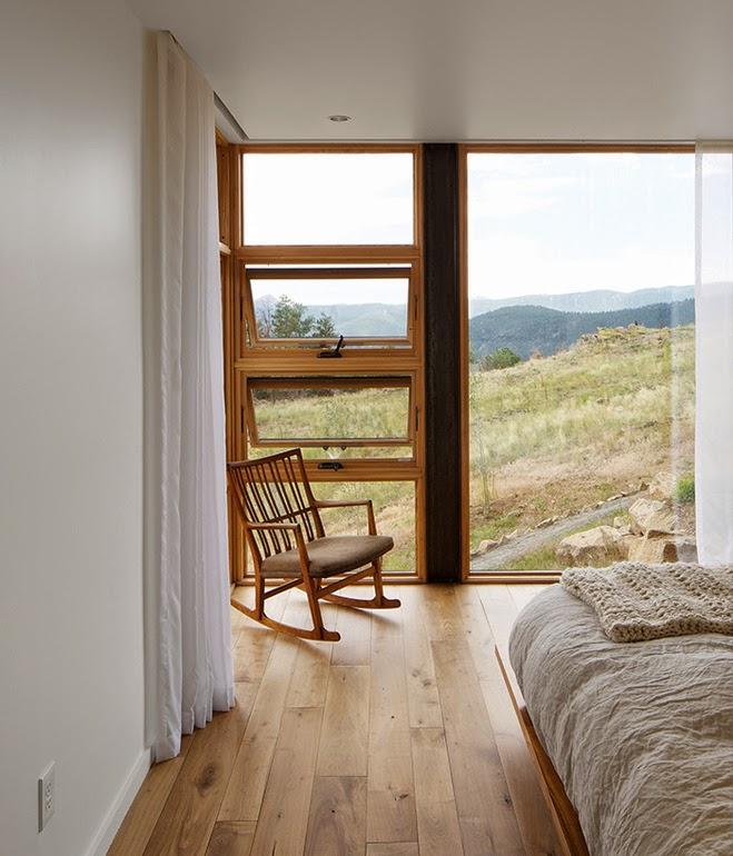dom, glass house, house, przeszklony, szklany, z widokiem na, Świat przez duże okna,