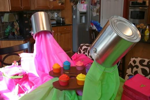 ideas de decoracin para fiesta con el tema arte o pintora