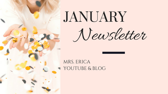 January Monthly Newsletter
