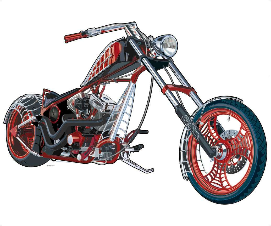 American choppers - 500 Collection HD Wallpaper