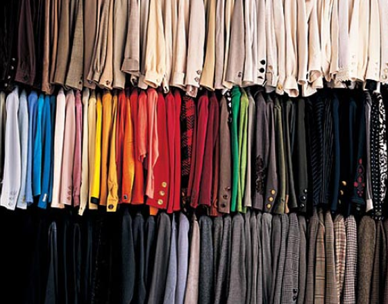 Ask away a fashion tip a day day 6 organize your for How to color organize your closet