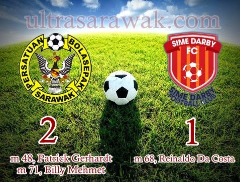 Taktikal Sarawak FA vs Sime Darby FC