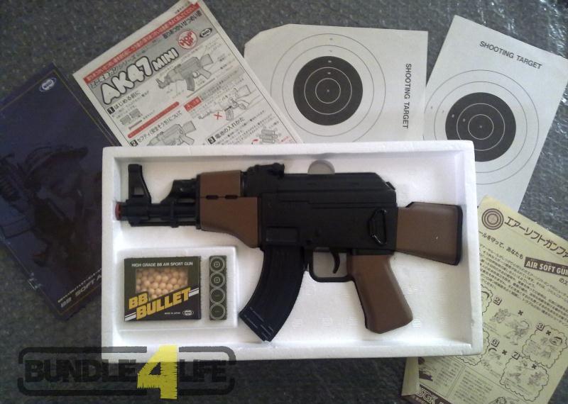 Marui AK47 Mini Airsoft BB Gun SOLD Bundle4Life