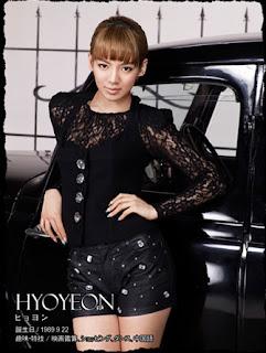 Hyoyeon | Mr Taxi