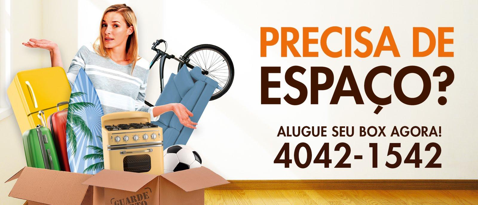 GUARDE PERTO - PRECISA DE ESPAÇO