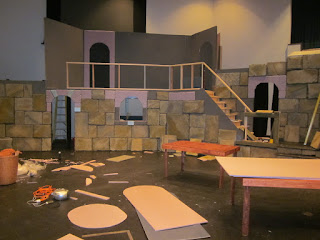 Set Design and Stone for Stage