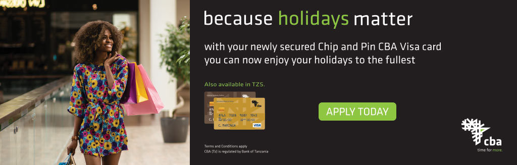 CBA Bank holiday VISA card campaign