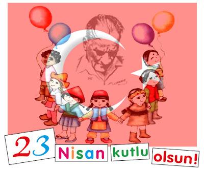 23-Nisan-Cocuklar-Ve-Ataturk