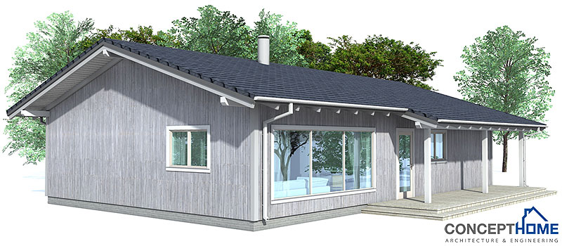 Affordable home plans affordable home plan ch32 for Simple to build house plans