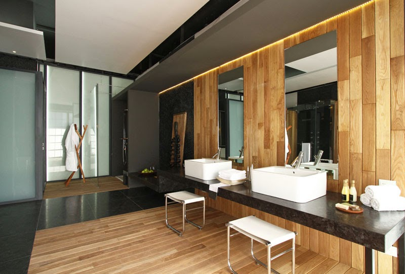 Piso Para Baño De Madera: puertas de madera en Asturias: BAÑOS DE MADERA: LA TENDENCIA ACTUAL