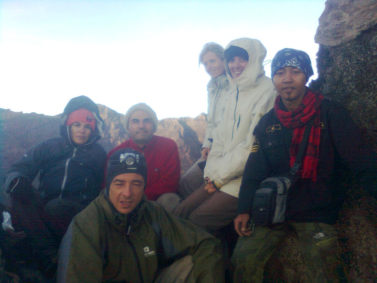 Mount Raung With Mr. Socrate Georgiades (Founder of lagazettedebali.info) n Friends from Franch