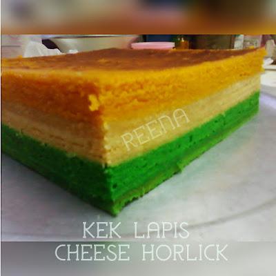 KEK LAPIS CHEESE HORLICK