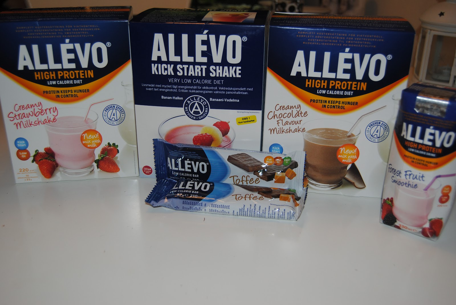 allevo high protein milkshake