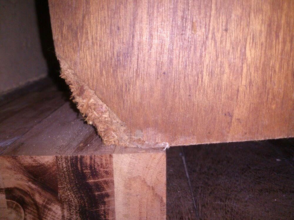 Restauracion y decoracion de madera reparar aglomerado de for Como restaurar una mesa de madera