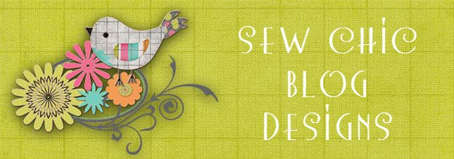 Sew Chic Blog Design