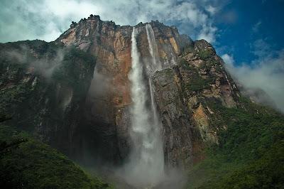 longest waterfall in the world Angel waterfall