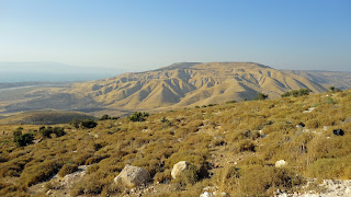 Mountains near Umm Qais