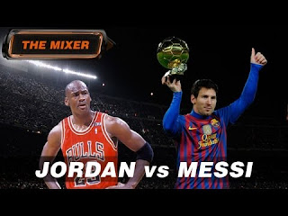 Lionel Messi Vs Michael Jordan