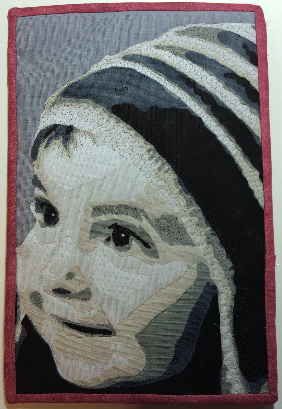 Anleitung Porträtquilts