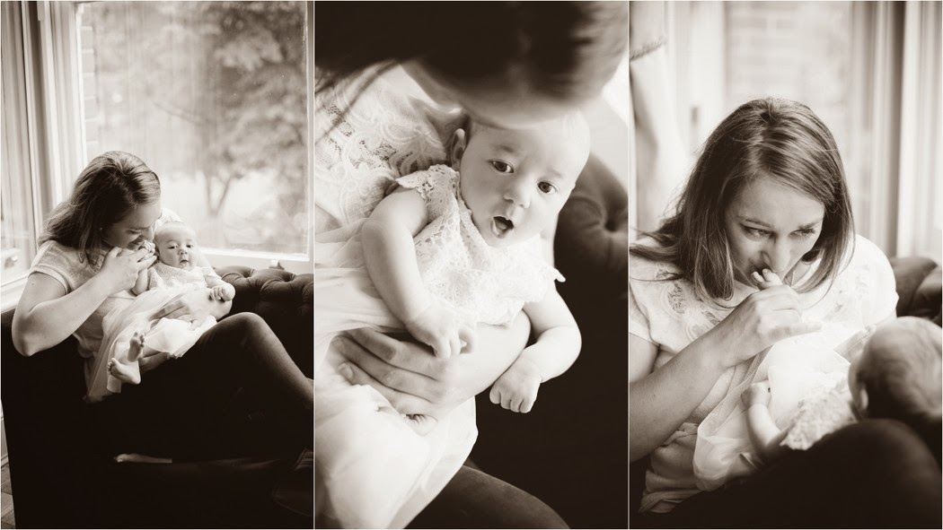 Home newborn portrait photo session ideas