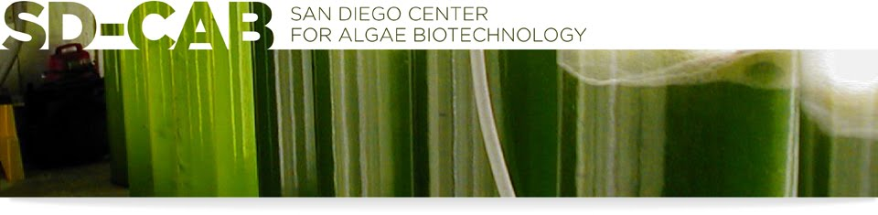 San Diego Center for Algae Biotechnology BLOG!